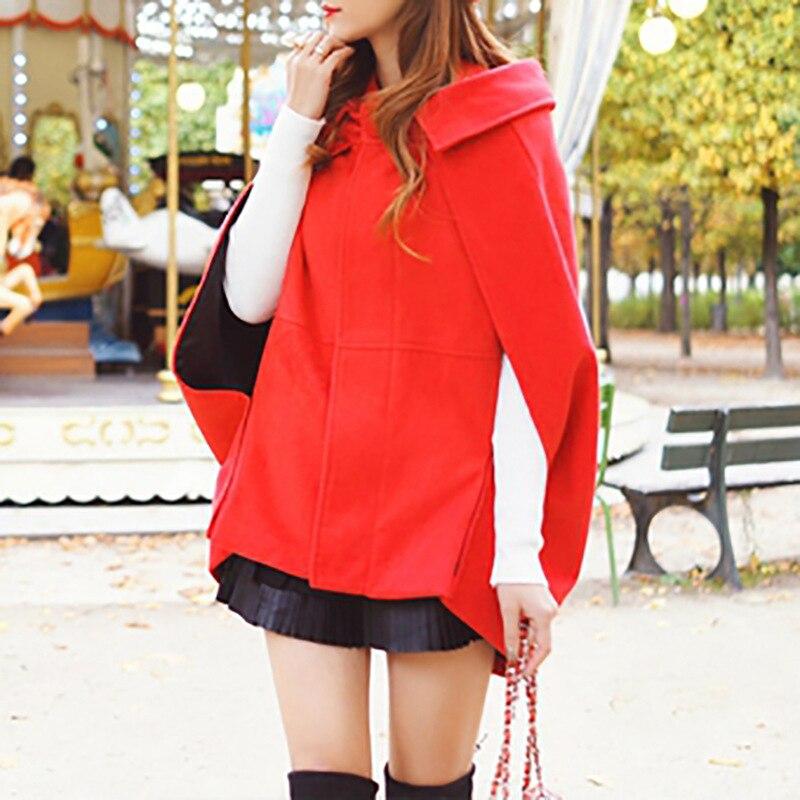 3cccdc296f3a Plus Rouge Fille Doux Et Nouveau Hiver Manteau Même Réduire Net Automne  Mode L âge Le De Kaki Laine UIvqvzwx