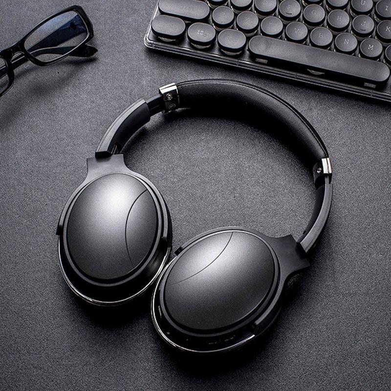 Gold Hands New Headphones Bluetooth HiFi Earphone Wireless Headphone Stereo Foldable Sport Earphone Microphone Headset Handfree