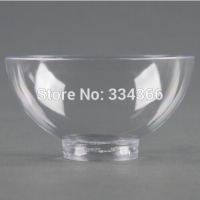 200pcs/lot Hard Plastic Disposable Dessert Bowl 2oz Plastic Cake Dish /Mini Small Bowl For Party Festival Wedding