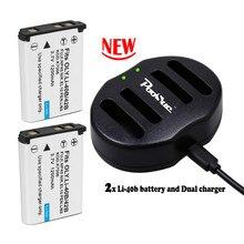 Batterie de caméra, pour Olympus 3.7 Pentax Li-40B Fuji NP45 np 45 Nikon Li-42B en el10 Li 42b, D-Li63 V EN-EL10 li42b Li 40B