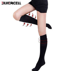 32a53b18ca2 SILVERCELL Women Compression Thigh High Tights Stockings