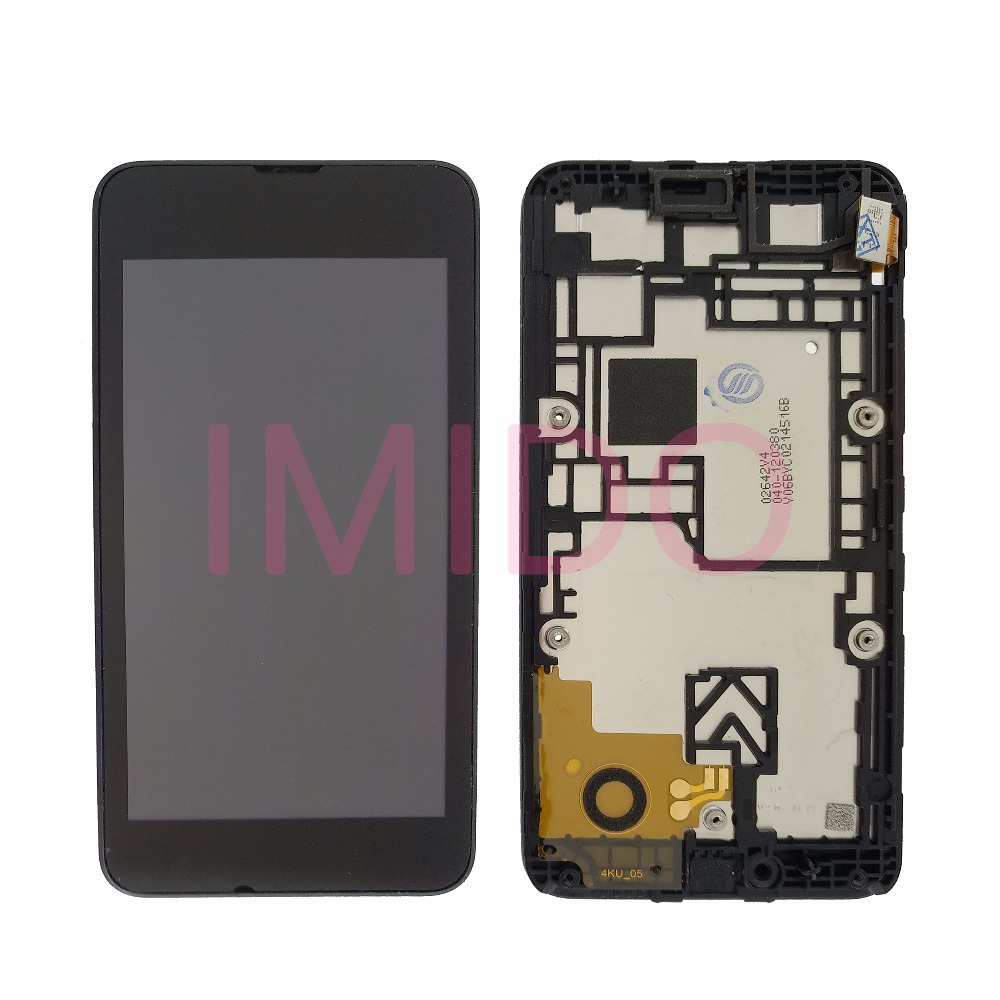 For Nokia Lumia 530 RM-1018 LCD Display+Touch Screen Digitizer Assembly+Frame Replacement Parts
