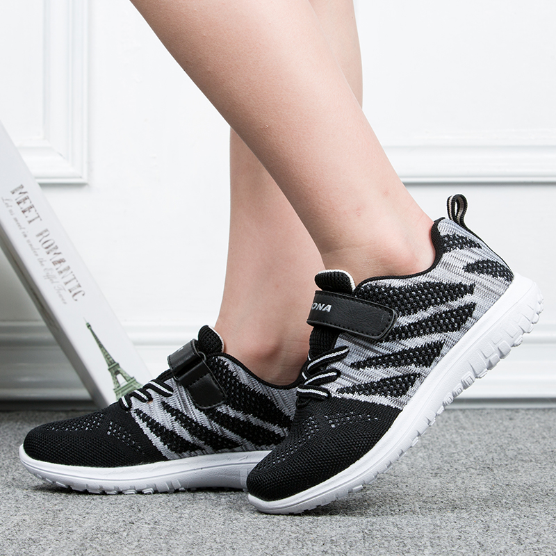 BONA New Arrival Popular Style Children Casual Shoes Mesh Sneakers Boys & Girls Flat Child Running Shoes Light Fast Free Shippin 5