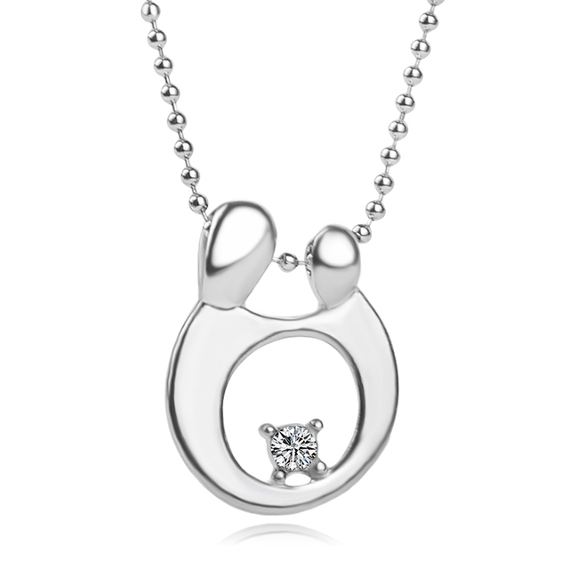 Célèbre Mode bébé mère colliers pendentif coeur maman fille fils enfant  OV54