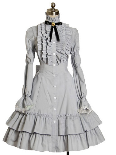 c00fb6ba93 2015 NEW fashion Alice in Wonderland lolita dress plus size victorian  dresses plus sized adult halloween costumes