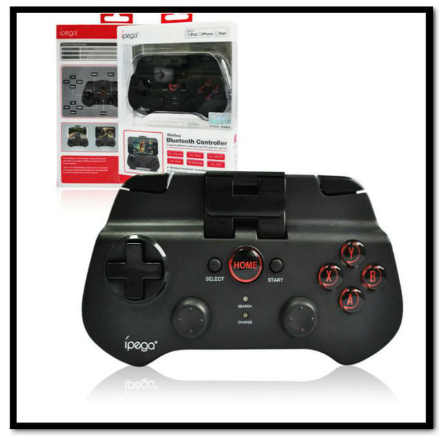 iPega Bluetooth Wireless Game Controller Gamepad Joystick for Samsung/HTC/iPhone/iPod/iPad/Android Phone/Tablet PC