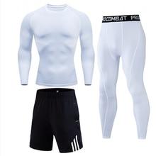 НОВЫЕ комплекты термобелья Long Johns Для мужчин бренд быстросохнущая антимикробные эластичные Для мужчин, Детские одноцветные Для мужчин костюм мужской теплый
