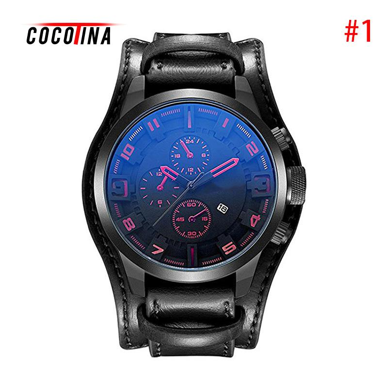 COCOTINA Fashion Curren Men Date Stainless Steel Leather Analog Quartz Sports Male Student Wrist Watch Waterproof Life LSB01051 new claudia fashion 8colors fashion womens leather stainless steel date dress quartz analog wrist watch dropship reloj mujer