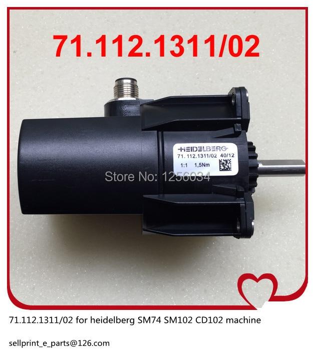 1 piece heidelberg SM74 SM102 CD102 machine motor 71.112.1311/02 1 piece water sensor for heidelberg sm102 cd102 machine