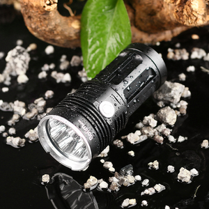 Image 4 - Potente linterna LED T6, 14 x XML, 18650, 18650, táctica, 5 modos, para caza y camping