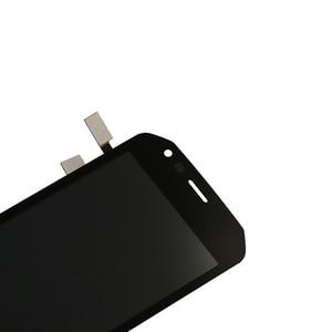 Image 2 - Pour laffichage à cristaux liquides de Caterpillar CAT S40 avec lassemblage décran de remplacement de composant de numériseur décran tactile