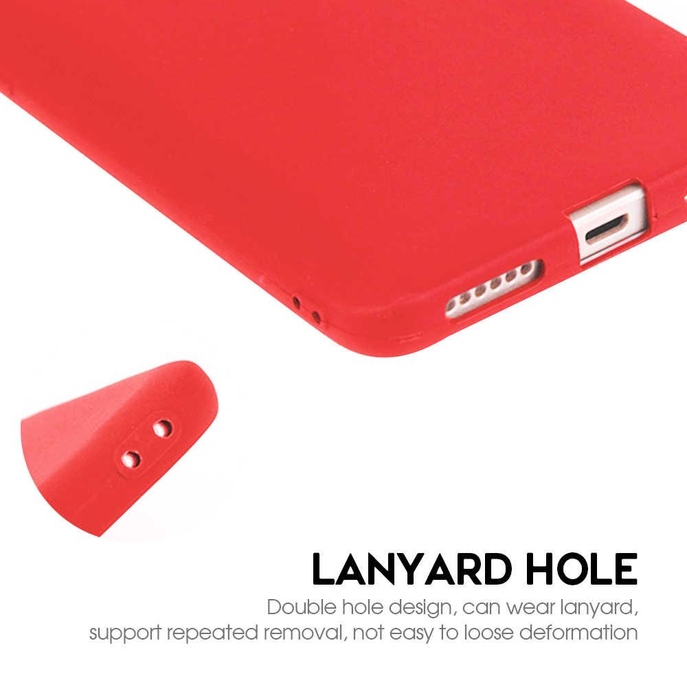 Coque TPU couleur bonbon mat pour Xiaomi Redmi Note 6 5 Pro 6A 5A 7 coque arrière souple en Silicone pour Redmi 6 Pro 5 Plus Note 4X Fundas