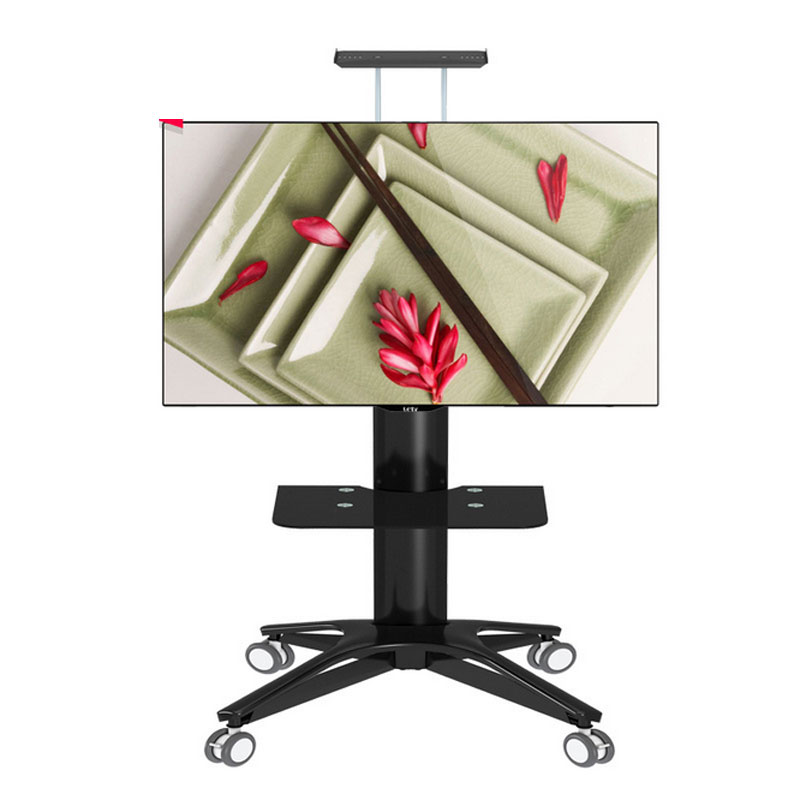 LED TV Trolley Floor Stand Mobile Video Conferencing