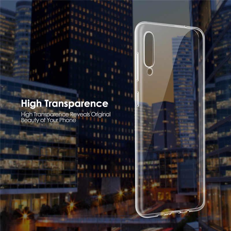 Transparente Caso Coque para Samsung Galaxy A10 A20 A30 A40 A50 A70 A60 A80 S10 S11 Plus S10e S10 + S11e A30S A50S A51 71 TPU Capa