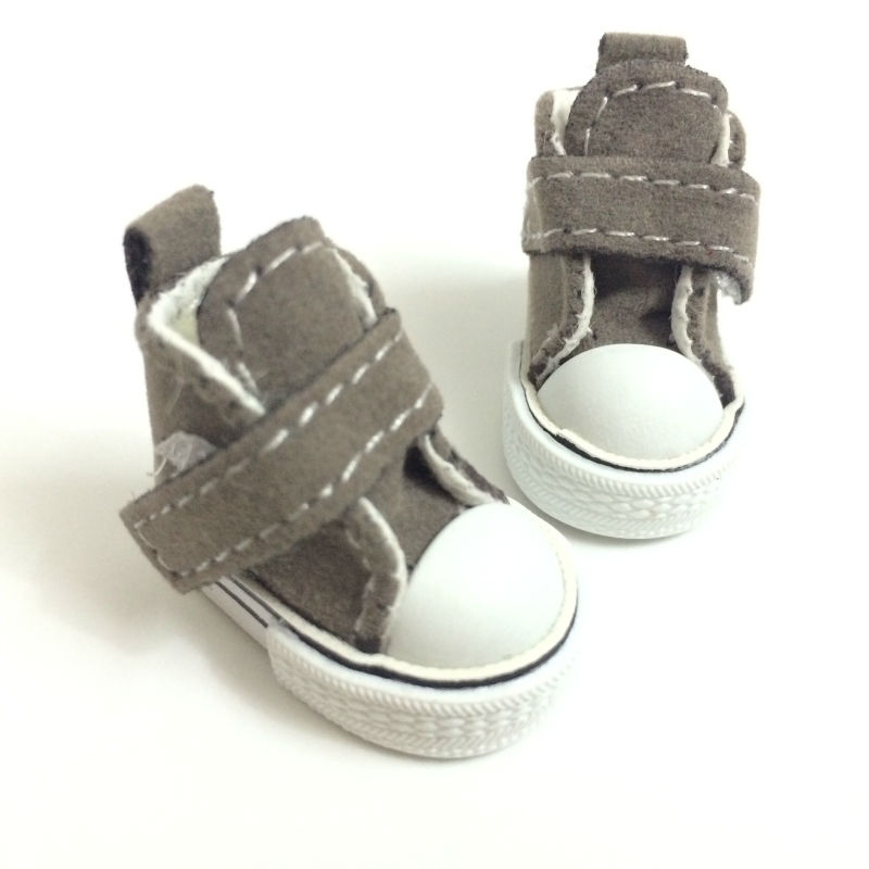 12 Pair/Lot Assorted Color 3.5cm Toy Boots For 1/8 BJD Doll Fashion Mini Toy Shoes Sneaker Bjd Doll Shoes for Dolls Accessories uncle 1 3 1 4 1 6 doll accessories for bjd sd bjd eyelashes for doll 1 pair tx 03