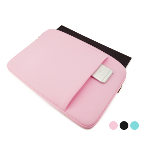 "Image 3 - Soft Sleeve Laptop Bag Case For Macbook Air Pro Retina 13 11 15 14"" For Mac Pouch Cover For Notebook Phone Mouse Adapter Cable"