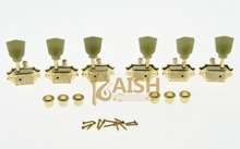 Wilkinson 3×3 Deluxe Vintage Tuners Tuning Keys Machine Head for LP Gold