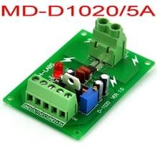 Panel Mount +/-5Amp AC/DC Current Sensor Module Board, based on ACS712