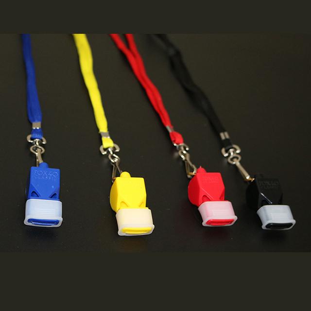 2pcs Whistle Plastic FOX 40 Outdoor Survival