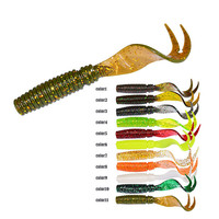 Fihsing Lures Bait 75Mm 8 Article  Are Loaded With Tail Worm Lures A3