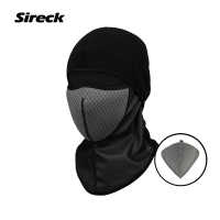 Sireck Fleece Thermal Cycling Cap Winter Sport Cap Face Mask Balaclava Bicycle Hat Men Women Bike