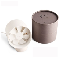 Desk Stand USB Cooler Cooling Silent Fan Metal Quiet Touch Switch Mute Cooling Mini USB Charge