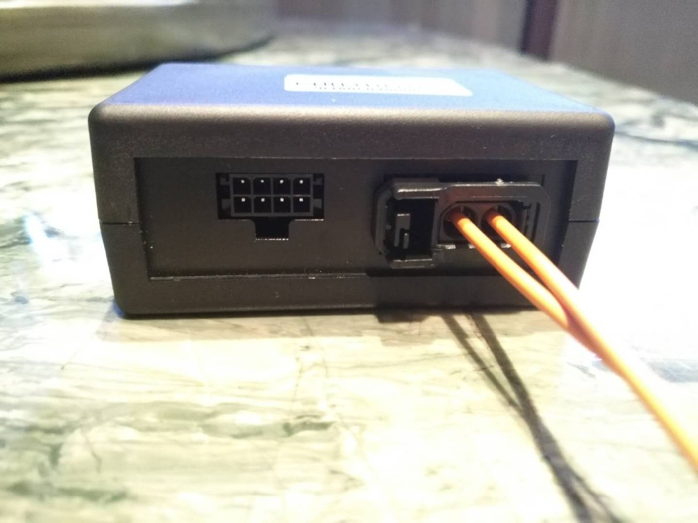 Boîte de décodeur de Fiber pour Audi Q7 A6 A6L
