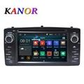 Quad core RK3188 2 Din Coche DVD GPS Android 5.1.1 Para Toyota E120 Corolla BYD F3 con pantalla Capacitiva WIFI 3G GPS Del Coche Del USB radio