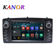 Quad core RK3188 2 Din Car DVD GPS Android 5.1.1 For Toyota Corolla E120 BYD F3 with Capacitive screen WIFI 3G GPS USB Car radio