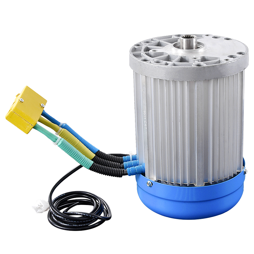 Machine Tools Accessories Motor Methodical 60v 3000w 4600rpm Permanent Magnet Brushless Differential Speed Dc Motor Electric Vehicles