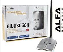 Nueva actualización ALFA AWUS036NH red Ralink 3070 de 2000 MW ALFA WiFi inalámbrico Adaptador USB Con 5dbi anenna 1 Set