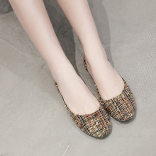 Zapatos mujer; коллекция года; сезон весна-осень; женские лоферы; повседневная обувь с закрытым носком на плоской подошве; Beanshoes zapatillas mujer;#4