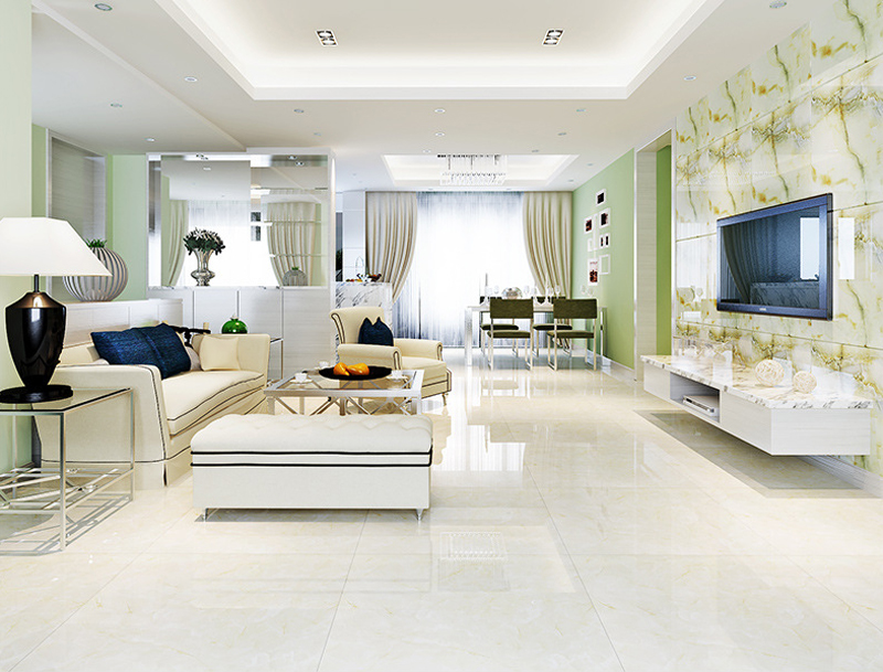 800 800mm Ceramic Tile Polished Glazed Living Room Floor