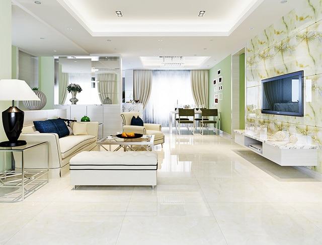 ceramic tile living room floor armchairs uk 800 800mm polished glazed tiles stylish european style