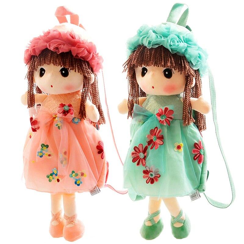 Новое поступление Kawaii милая девушка, кукла малыш школы сумки детский сад рюкзак ...