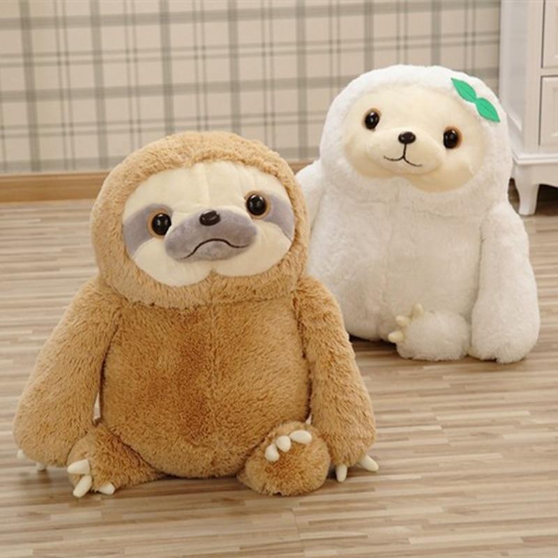 2017 New Simulation Sloth The Baby Doll Lifelike Sloth Plush Toys Stuffed Dolls & stuffed toys Kids Lovely Doll Best Holiday Gif