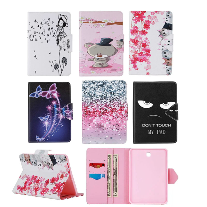 For coque Samsung Galaxy Tab S2 8.0 T710 T715 SM-T715 Case Flip Case For Samsung Tab S2 8.0 Case + Stand Function стоимость