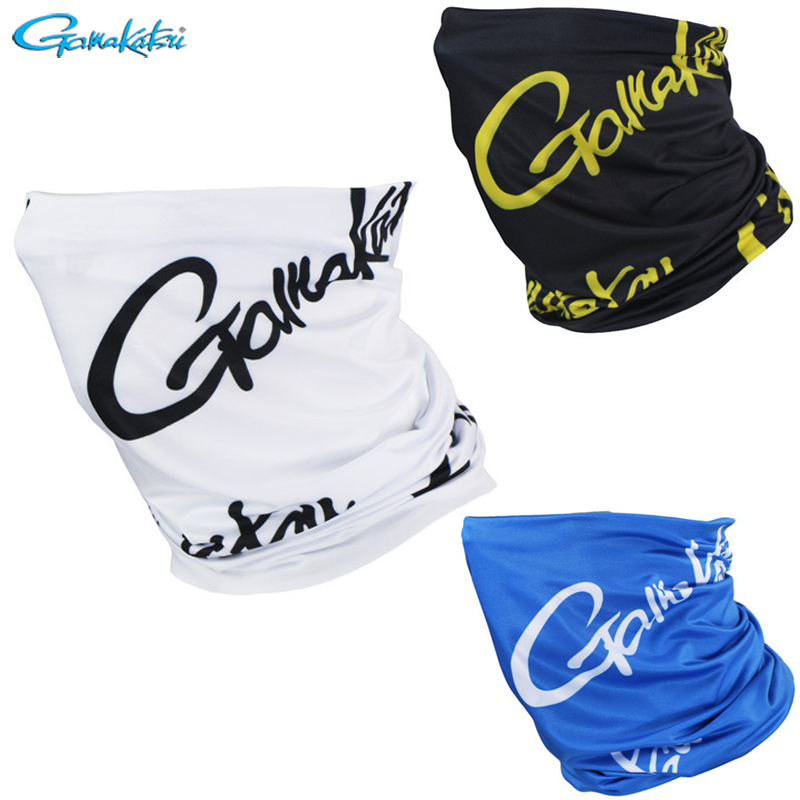 Gamakatsu 2019 White Black Blue Outdoor Sports Magic Scarf Windproof Sunscreen Seamless Variety For Fishing Face Mask