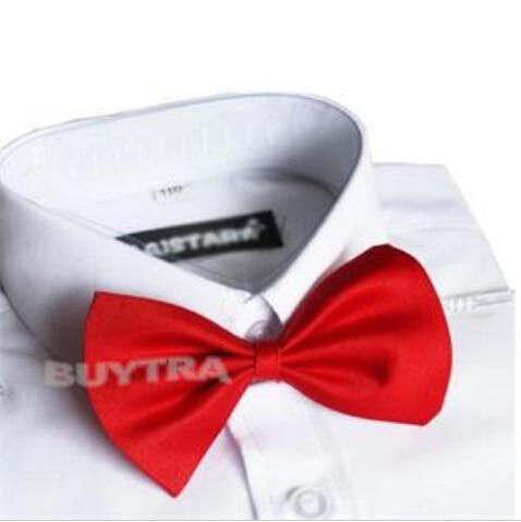 Red Black Kids Boys Necktie Cute Bow Tie Children Butterfly Type Necktie