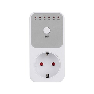 Mini LED 230V 16A 1h-10h Countdown Timer Switch Socket Outlet Plug-in Time Control for Kitchen Electric Appliance EU Plug