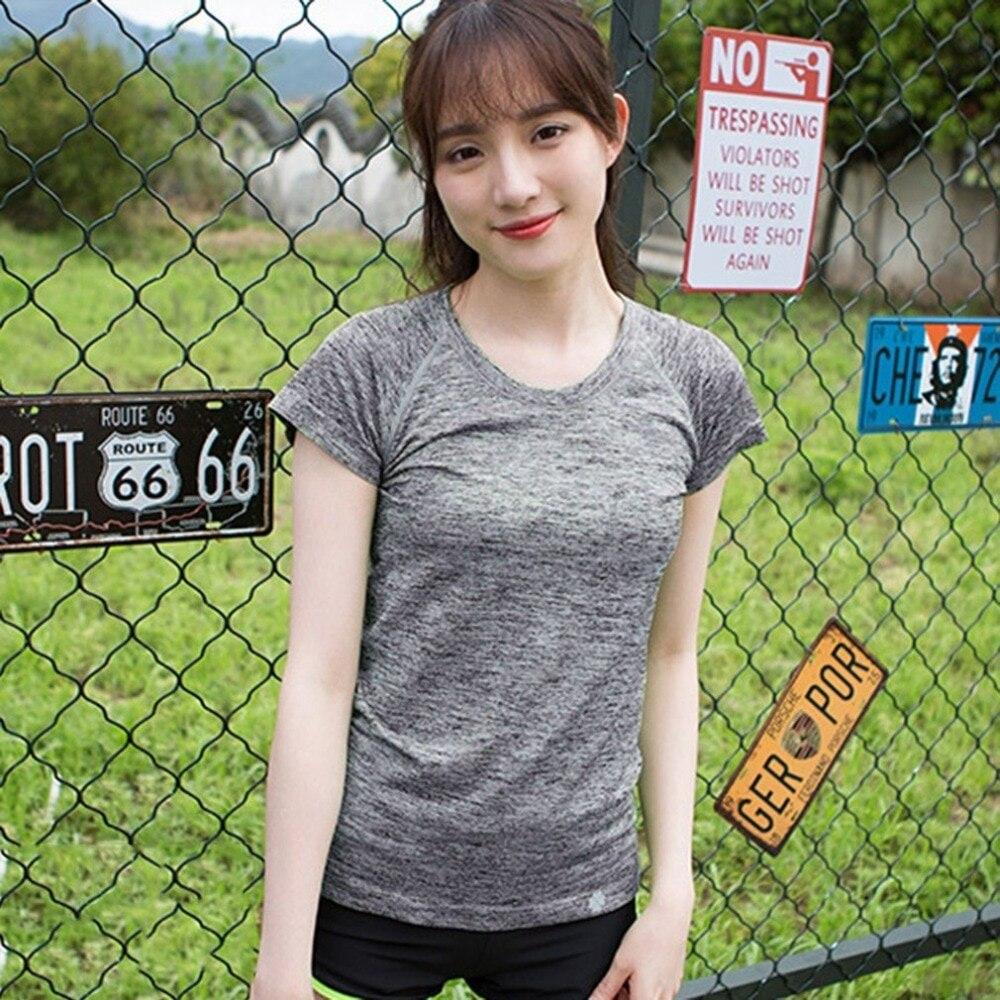 Fitness Clothes Buy Online: Aliexpress.com : Buy Women Summer T Shirt Gym Center
