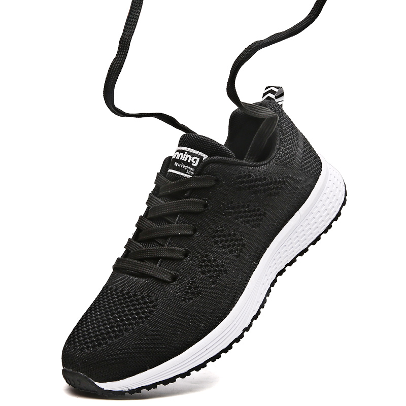 8375de299ab2c High Quality Women Sneakers Breathable Mesh Running Womens Lace Up Sport  Shoes Gym Jogging Female Zapatillas