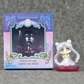 New 1pcs Sailor Moon Figure Toys 6cm Usagi Tsukino PVC Action Figure Toys With Box Collective Doll