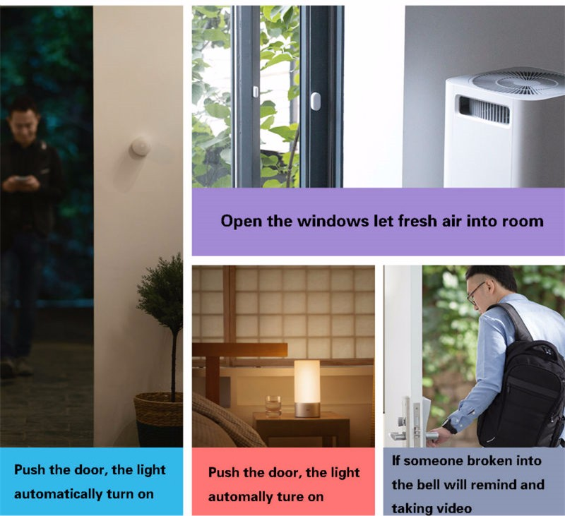 Xiaomi Sensor inteligente de puerta 3