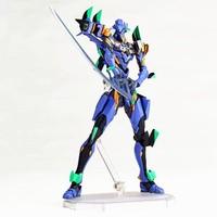 Revoltech Evangelion Evolution EV 001 GUNDAM Test Type 01 with LED Light PVC Action Figure Collectible Model Kids Toys Doll 14CM