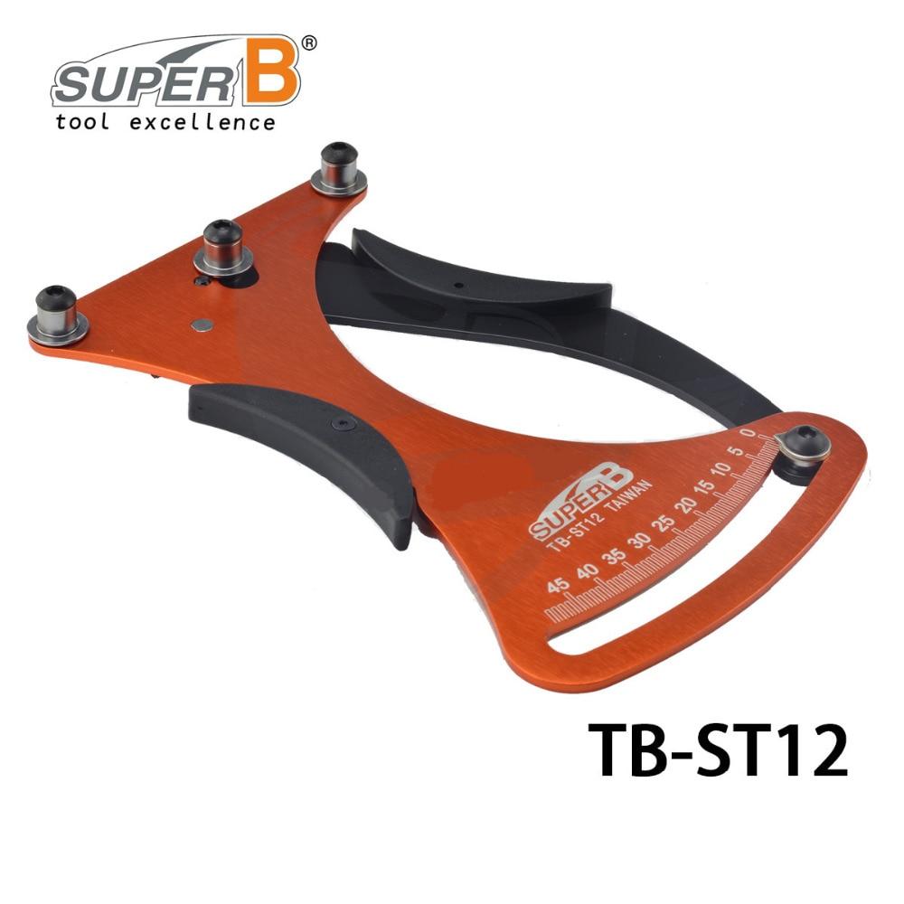 Super B TB-ST12 Bike Bicycle Spoke Tension Meter Measures The Spoke Tension For Building/Truing Wheels Bicycle Repair Tools цена