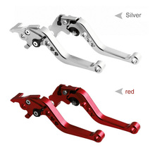 1 Pair Universal Motorcycle Modification Parts Brake Clutch Six-speed CNC Handle Horns Hand Accessories