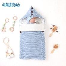 infant sleeping bag pure color Baby Swaddle Wrap Sleep Sacks newborn envelope thickening anti-kick Winter autumn недорого