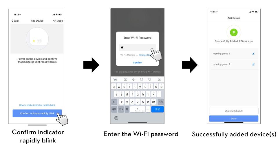 Tuya WiFi Touch Smart Ceiling Fan Switch US Standard (Tuya