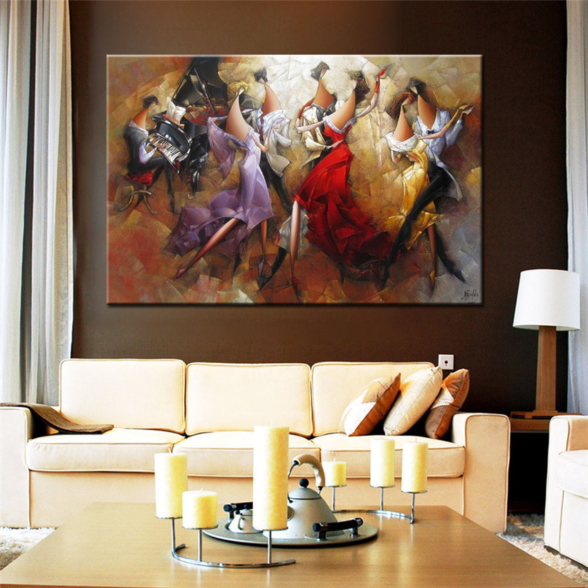 Music Party Painting By Number DIY Hand Painted Christmas Arts For Home Decor Gift Cheap Poster Coloring By Numbers